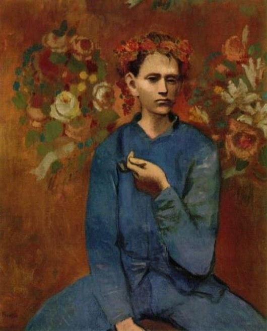 """В 2004 году картина Пабло Пикассо """"Мальчик с трубкой"""" (1905) стала самой дорогой из когда-либо проданных его работ. На аукционе Сотбис в Нью-Йорке за нее заплатили колоссальную сумму в 104 200 000 долларов."""